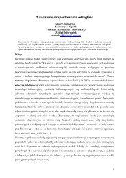 plik PDF - Instytut Matematyki i Informatyki Uniwersytetu Opolskiego