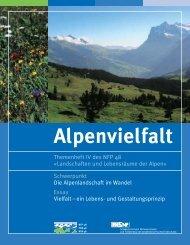 Landschaften und Lebensräume der Alpen - Alps Know-How