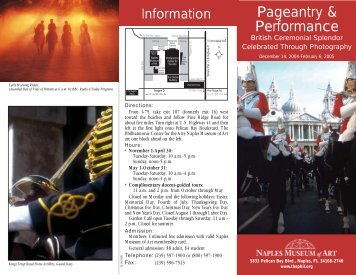 Museum Brochure - Henry Dallal