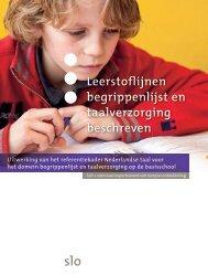Leerstoflijnen begrippenlijst en taalverzorging beschreven ( 2 ... - Slo