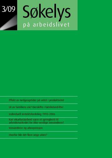 + Last ned pdf - Institutt for samfunnsforskning