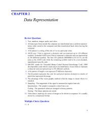 CHAPTER 2 Data Representation