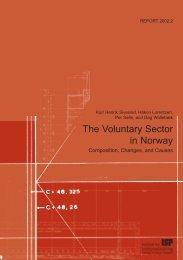 Download fulltext - Institutt for samfunnsforskning (ISF)