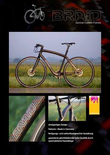 German Carbon Frames - braid