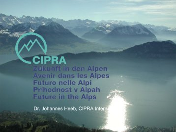 German - Alps Know-How - Cipra