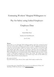 Estimating Workers' Marginal Willingness to Pay for Safety using ...