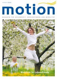 magazin für gesundheit, wohlbefinden und mobilität