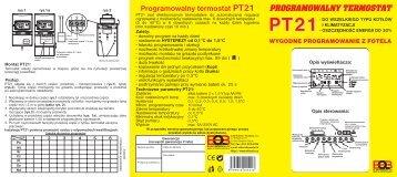 Programowalny termostat PT21 - E-SYSTEM