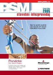 2005 stavební infozpravodaj - PSMCZ cz