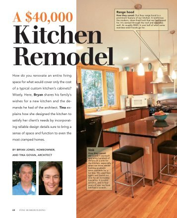 A $40000 Kitchen Remodel - Tina Govan Architect