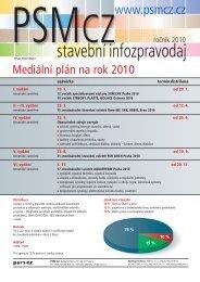 Mediální plán 2010 ke stažení - PSM CZ