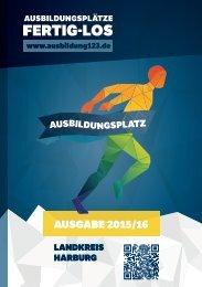 AUSBILDUNGSPLÄTZE - FERTIG - LOS | Landkreis Harburg |Ausgabe 2015/16
