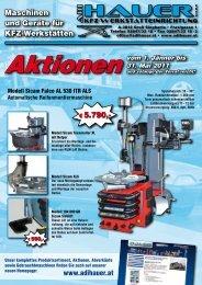 Automatische Reifenmontiermaschine - ADI HAUER GmbH