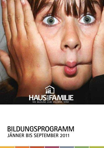 KEIN MEISTER IST voM hIMMEl gEFallEN - Haus der Familie