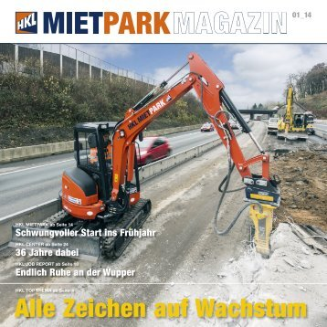 HKL MIETPARK MAGAZIN Ausgabe 01 - 2014