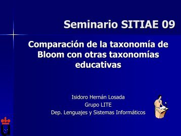 Seminario SITIAE 09 - LITE