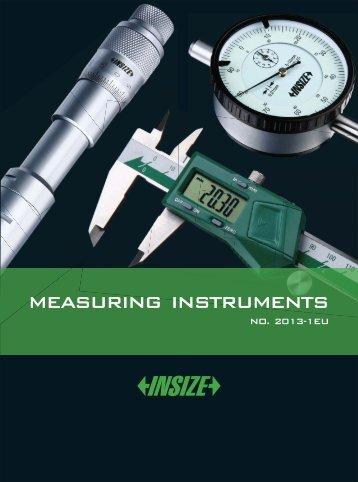 MEASURING INSTRUMENTS - Meroeszkozok
