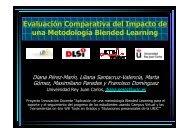 Evaluación Comparativa del Impacto de una Metodología ... - LITE