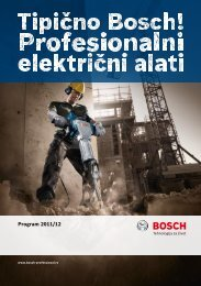 Bosch - Unior Teos alati doo