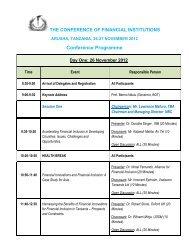 Program 06 Nov 2012.pdf - Bank of Tanzania