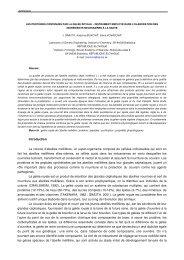 Introduction La colonie d'abeilles mellifères, un ... - Apimondia