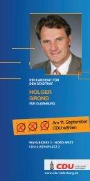hOlger grOnd - CDU Oldenburg