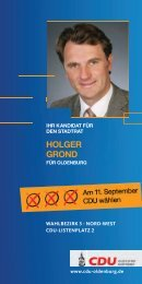 hOlger grOnd - CDU Oldenburg