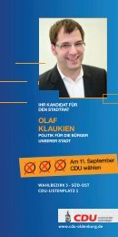 olAf klAukien - CDU Oldenburg