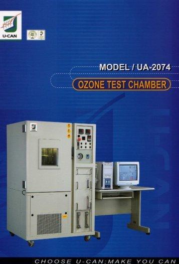 Ozone Test Chamber - Polymer Machinery Company