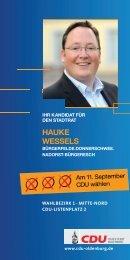 haUke Wessels - CDU-Kreisverband Oldenburg-Stadt