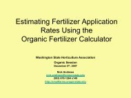 Using the Organic Fertilizer Calculator