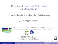 Detection of Ventricular Arrhythmias on a Smartphone -0.02 - FRUCT