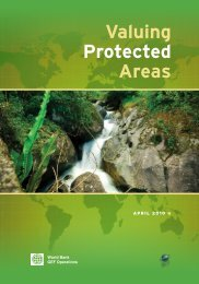 Valuing protected areas (570 KB) - Crop Wild Relatives Portal