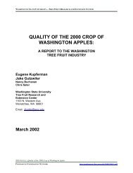 Quality of the 2000 Crop of Washington Apples - Postharvest ...