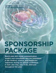 Sponsorship Prospectus | 2013 - Association of Medical Illustrators