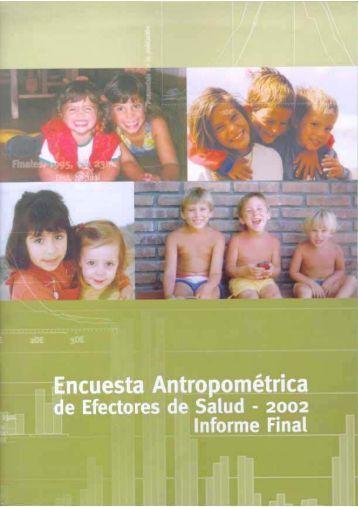 Encuesta Antropométrica 2002 - Facultad de Medicina