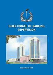 directorate of banking supervision directorate of ... - Bank of Tanzania