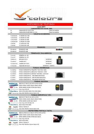 accesorios de telefonia - Colours mayorista de telefonia movil y ...