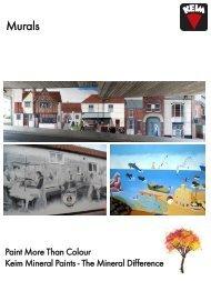 Murals - KEIM Mineral Paints Ltd