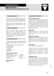 Download technical datasheet - KEIM Mineral Paints Ltd