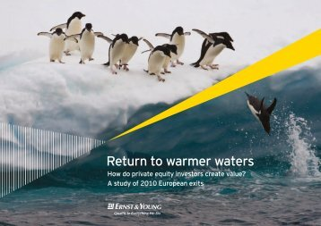 Return to warmer waters - HVCA