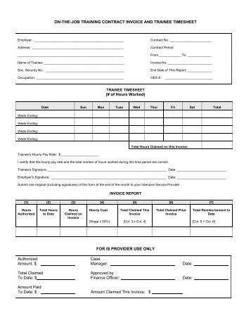 InvoiceFinancing Request And Contract Financial