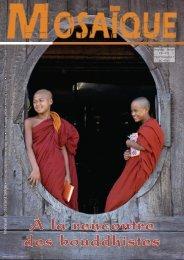 À la rencontre des bouddhistes
