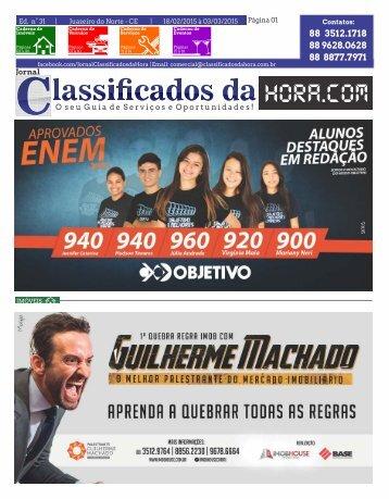 Jornal Classificados da Hora.Com | Edição 31