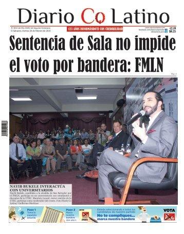 Edición 20 de Febrero de 2015