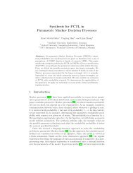 Synthesis for PCTL in Parametric Markov Decision Processes - PRISM