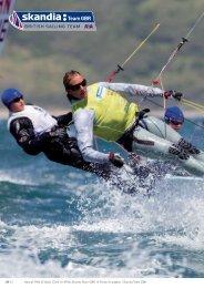 Hannah Mills & Saskia Clark im 470er, Skandia Team GBR - Waterlife