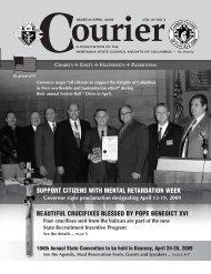 3-4 09 Courier2:Layout 1 - Nebraska Knights of Columbus