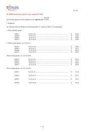 Art. 30 1 / 29 De RODE markeringen gaan in voege vanaf 01/01 ...