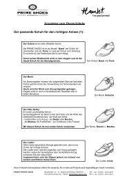 Der passende Schuh für den richtigen Anlass (1): - Prime Shoes